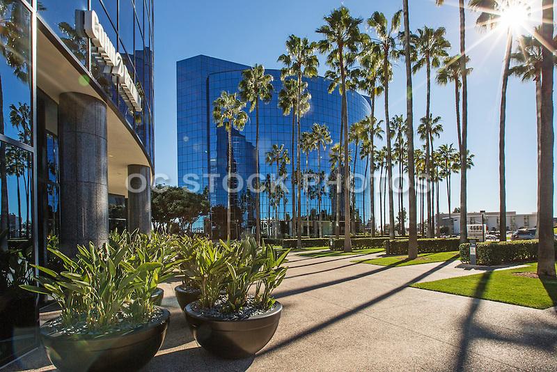 Glass Business Buildings in La Jolla San Diego