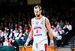 S&ouml;dert&auml;lje 2015-04-10 Basket SM-Semifinal 5 S&ouml;dert&auml;lje Kings - Sundsvall Dragons :  <br /> Sundsvall Dragons Hlynur Baeringsson ser nedst&auml;md ut under matchen mellan S&ouml;dert&auml;lje Kings och Sundsvall Dragons <br /> (Foto: Kenta J&ouml;nsson) Nyckelord:  S&ouml;dert&auml;lje Kings SBBK T&auml;ljehallen Sundsvall Dragons depp besviken besvikelse sorg ledsen deppig nedst&auml;md uppgiven sad disappointment disappointed dejected