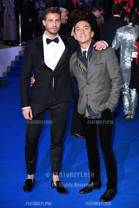 """LONDON, UK. December 12, 2018: Bruno Tonioli at the UK premiere of """"Mary Poppins Returns"""" at the Royal Albert Hall, London.<br /> Picture: Steve Vas/Featureflash"""