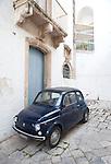 Fiat 500, Puglia, Italy