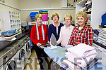 Listowel Laundry for the Elderly at the  Listowel Family Recourse centre. Pictured l-r volunteers Mary Walsh, Mary Comerford, Norita Keane and Julia Gleeson