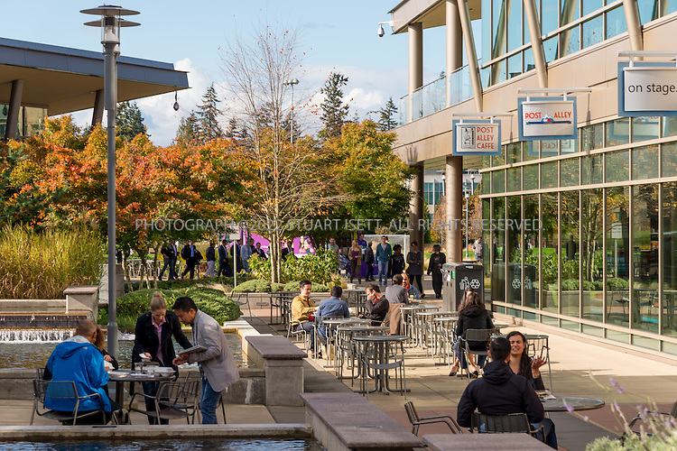10/26/2016-- Redmond, WA, USA<br /> <br /> Microsoft&rsquo;s campus in Redmond, Washington.<br /> <br /> Photograph by Stuart Isett. &copy;2016 Stuart Isett. All rights reserved.
