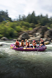 USA, Oregon, Wild and Scenic Rogue River in the Medford District, running the Blossom Bar Rapid