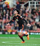 Marouane Fellaini of Manchester United<br /> - Barclays Premier League - Stoke City vs Manchester United - Britannia Stadium - Stoke on Trent - England - 26th December 2015 - Pic Robin Parker/Sportimage