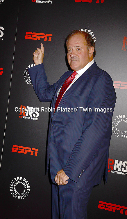 Chris Berman attends The Paley Center for Media's Annual Benefit Dinner honoring ESPN' s 35th Anniversary on May 28, 2014 at 583 Park Avenue in New York City, NY, USA.