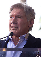 08 March 2018 - Hollywood, California - Harrison Ford. Mark Hamill Honored With Star On The Hollywood Walk Of Fame.  <br /> CAP/ADM/FS<br /> &copy;FS/ADM/Capital Pictures