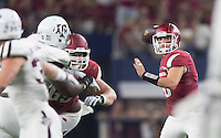 HAWGS ILLUSTRATED JASON IVESTER<br /> --09/26/15-- Arkansas vs Texas A&M football