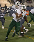 Colorado State running back Marvin Kinsey Jr. runs against Nevada in the second half of an NCAA college football game in Reno, Nev., Saturday, Nov. 10, 2018. (AP Photo/Tom R. Smedes)