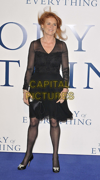 LONDON, ENGLAND - DECEMBER 09: Sarah Ferguson attends the &quot;The Theory of Everything&quot; UK film premiere, Odeon Leicester Square cinema, Leicester Square, on Tuesday December 09, 2014 in London, England, UK. <br /> CAP/CAN<br /> &copy;Can Nguyen/Capital Pictures