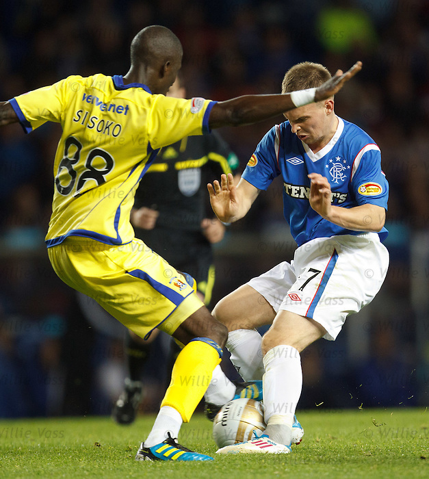 Gregg Wylde and Momo Sissoko