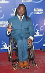 Ade Adepitan  attends the The National Lottery Stars gala awards ceremons at Pinewood Studios on September 12, 2014 in Iver Heath, England. Picture By  Brian Jordan