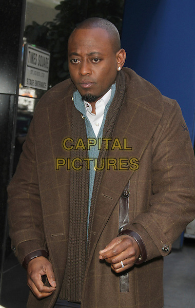 March 06, 2014: Omar Epps at Good Morning America to talk about the new ABC series Resurrection in  New York . <br /> CAP/MPI/RW<br /> &copy;RW/ MediaPunch/Capital Pictures