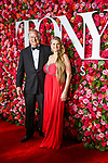 NEW YORK, NY - JUNE 10:  Stewart Lane and Bonnie Comley attends the 72nd Annual Tony Awards at Radio City Music Hall on June 10, 2018 in New York City.  (Photo by Walter McBride/WireImage)