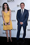 31.05.2012. Celebrities attend opening ceremony of the new BOSS Store Madrid Jorge Juan on the terrace of the Palacio de Cibeles. In the image Hilario Pino(Alterphotos/Marta Gonzalez)
