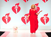 NEW YORK, NY - February 7 : Bo Derek, Flynn attends The American Heart Association's Go Red For Women Red Dress Collection 2019 Presented By Macy's at Hammerstein Ballroom on February 7, 2019 in New York City.<br /> CAP/MPI/JP<br /> &copy;JP/MPI/Capital Pictures