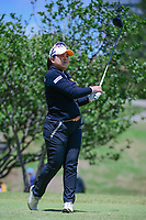 Inbee Park (KOR) watches her tee shot on 2 during round 4 of  the Volunteers of America Texas Shootout Presented by JTBC, at the Las Colinas Country Club in Irving, Texas, USA. 4/30/2017.<br /> Picture: Golffile | Ken Murray<br /> <br /> <br /> All photo usage must carry mandatory copyright credit (&copy; Golffile | Ken Murray)