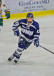 14 February 2015: University of New Hampshire Wildcat Forward Amy Boucher, a Freshman from Edmonton, Alberta, in third period action against the University of Vermont Catamounts at Gutterson Fieldhouse in Burlington, Vermont. The Ladies played to a 3-3 tie in their final meeting of the NCAA Hockey East season. Mandatory Credit: Ed Wolfstein Photo *** RAW (NEF) Image File Available ***