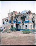 ERITREA, Massawa, a bombed Massawa Palace in the port town of Massawa