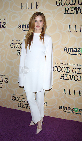 NEW YORK, NY-October 18:Grace Gummer  at Amazon Originasl Series Good Girls Revolt screening  at the Joseph Urban Theater at Hearst Tower in New York.October 18, 2016. Credit:RW/MediaPunch