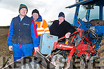 At the Ardfert Ploughing association Co. Championship Ploughing Match  on the lands of Michael McCarthy, Ballinprior, Ardfert on Sunday were Richard O'Mahony, Liam O'Mahony and Chrisy O'Mahony from Ballyheigue