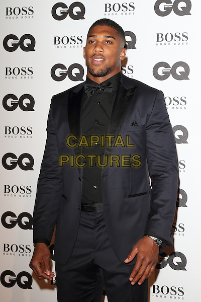 Anthony Joshua at the GQ Men of the Year Awards 2016 - in association with Hugo Boss -  Tate Modern, Bankside, London on 6th September 2016<br /> CAP/ROS<br /> &copy;ROS/Capital Pictures
