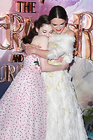 LONDON, UK. November 01, 2018: Mackenzie Foy &amp; Keira Knightley at the premiere of &quot;The Nutcracker and the Four Realms&quot; at the Vue Westfield, London.<br /> Picture: Steve Vas/Featureflash