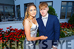 Clodagh Clifford (Killorglin) and Kieran Thompson (Killarney) at the Killarney Community College, St. Brendan's and St. Bridget's School debs in the Ballyroe Heights Hotel on Monday night