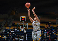 Brittany Boyd of California shoots the ball during the game against Bakersfield at Haas Pavilion in Berkeley, California on December 15th, 2013.  California defeated Bakersfield Roadrunners, 70-51.