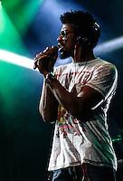 SÃO PAULO, 01 de SETEMBRO, 2012 - FESTIVAL NOVA BRASIL FM - Seu Jorge na Terceira  Edicao do Festival Nova Brasil FM - grandes nomes da MPB na Arena Anhembi, nesse sabado, 01- FOTO LOLA OLIVEIRA - BRAZIL PHOTO PRESS