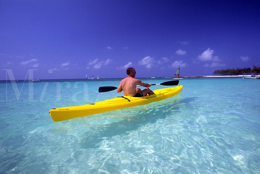 kayakaing carribean