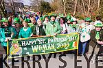 Woman 2000 enjoying the Killorglin St Patricks Day Parade on Tuesday