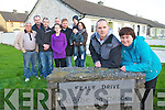 Listowel Councillor and feale Drive resident Tom Barry and Theresa O'Sullivan (Foreground) with residents of Feale drive who are looking for CCTV cameras in Feale drive to combat anti social behaviour, from left Patrick O'Connor, William Brennan, Eugene Wekes, Sean Kelly, Jessica Wekes, Pat Barry, Bobby Stack, Tim O'Loughlan and Mary Brosnan.