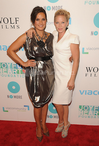 New York,NY-May 29: Mariska Hargitay and Kelli Giddish Attends Mariska Hargitayís Joyful Heart Foundation 10th anniversary  in New York City on May 29, 2014. Credit: John Palmer/MediaPunch
