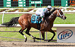 March 2010:  Battle Plan (9) and Javier Castellano win the New Orleans Handicap at the Fair Grounds in New Orleans, La.