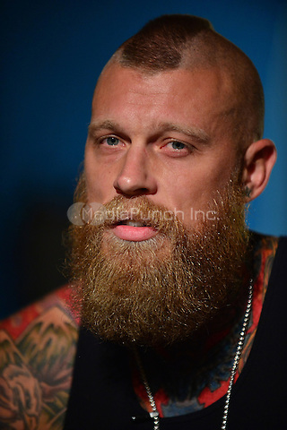 FORT LAUDERDALE, FL - AUGUST 29: Chris 'Birdman' Andersen attends a press call to promote Hard Rock Energy Drink on August 29, 2014 in Fort Lauderdale, Florida. Credit: MPI10 / MediaPunch