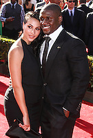 LOS ANGELES, CA - JULY 17: Lilit Avagyan and Reggie Bush attend the ESPY Awards 2013 held at Nokia Theatre L.A. Live on July 17, 2013 in Los Angeles, California. (Photo by Celebrity Monitor)
