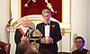 TheCityUK<br /> Annual Dinner <br /> 4th November 2014 <br /> at The Mansion House, London, Great Britain <br /> <br /> <br /> The Rt Hon Philip Hammond MP <br /> Secretary of State for Foreign and Commonwealth Affairs <br /> speech <br /> <br /> <br /> Photograph by Elliott Franks <br /> Image licensed to Elliott Franks Photography Services