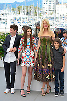 """22 May 2017 - Cannes, France - Barry Keoghan, Raffey Cassidy, Nicole Kidman, Sunny Suljic . """"The Killing Of A Sacred Deer"""" Photocall - 70th Annual Cannes Film Festival held at Palais des Festivals. Photo Credit: Jan Sauerwein/face to face/AdMedia"""