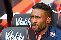 Jermain Defoe of AFC Bournemouth started on the bench during AFC Bournemouth vs Leicester City, Premier League Football at the Vitality Stadium on 15th September 2018