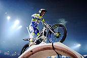 3rd February 2019, Palau Sant Jordi, Barcelona, Spain; FIM X Trial World Championships; Miquel Gelabert of the Sherco Team in action during the Trial Barcelona