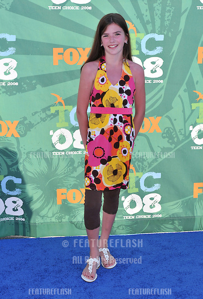Nikki Taylor Melton at the 2008 Teen Choice Awards at Universal Studios, Hollywood..August 3, 2008  Los Angeles, CA.Picture: Paul Smith / Featureflash
