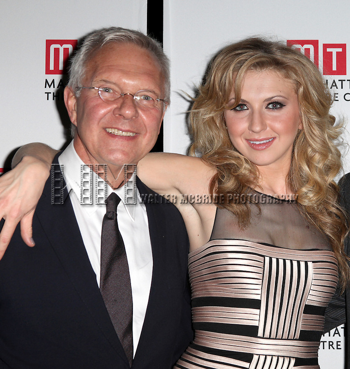 Director Walter Bobbie & Nina Arianda.attending the Opening Night Performance After Party for  the Manhattan Theatre Club's Production of 'Venus In Fur' at the Samuel J. Friedman Theatre in New York City.
