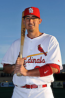 Mar 01, 2010; Jupiter, FL, USA; St. Louis Cardinals  infielder Allen Craig (56) during  photoday at Roger Dean Stadium. Mandatory Credit: Tomasso De Rosa/ Four Seam Images