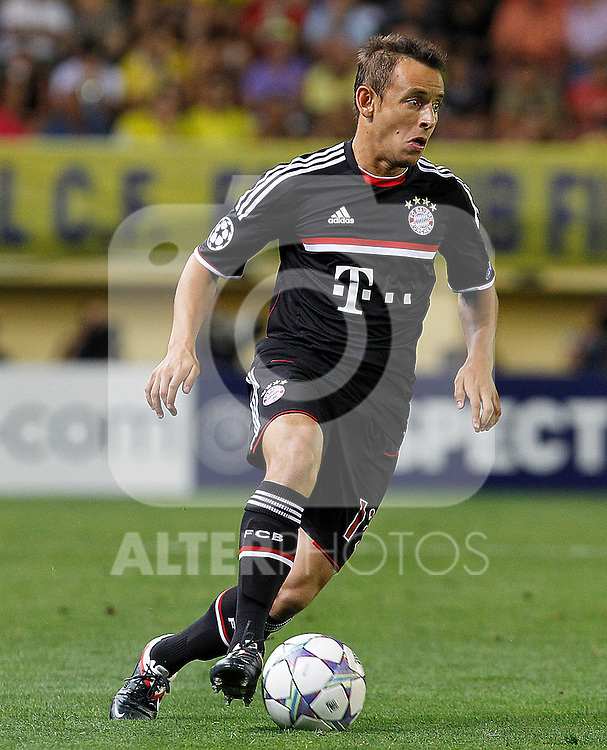 FC Bayern Munchen's Rafinha during UEFA Champions League match.September 14,2011.(ALTERPHOTOS/Acero)