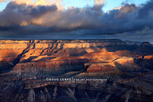 The Furious Light Of Dawn, Grand Canyon National Park, Arizona, East Rim View