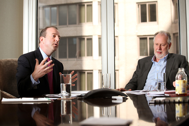 NEW YORK - OCTOBER 29:  Corporate Interview for Private Equity Magazine at Perseus LLC on October 29, 2010 in New York (Photo by Donald Bowers)