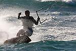 Kite Surfer 01 - Kite surfer at Leighton Beach, Perth, Western Australia