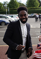 Pictured: Nathan Dyer Wednesday 18 May 2017<br /> Re: Swansea City FC, Player of the Year Awards at the Liberty Stadium, Wales, UK.