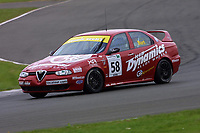 Rounds 4 of the 2002 British Touring Car Championship #58 Kelvin Burt (GBR). Gary Ayles Motorsport. Alfa Romeo 156.