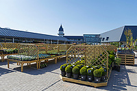 COPY BY TOM BEDFORD<br /> Pictured: The garden centre of the store.<br /> Re: Trago Mills Mega Store, which opened its doors in Merthyr Tydfil, and is the largest store in Wales, UK. It is a &pound;65m investment creating 350 jobs in one of Britain's biggest unemployment blackspots